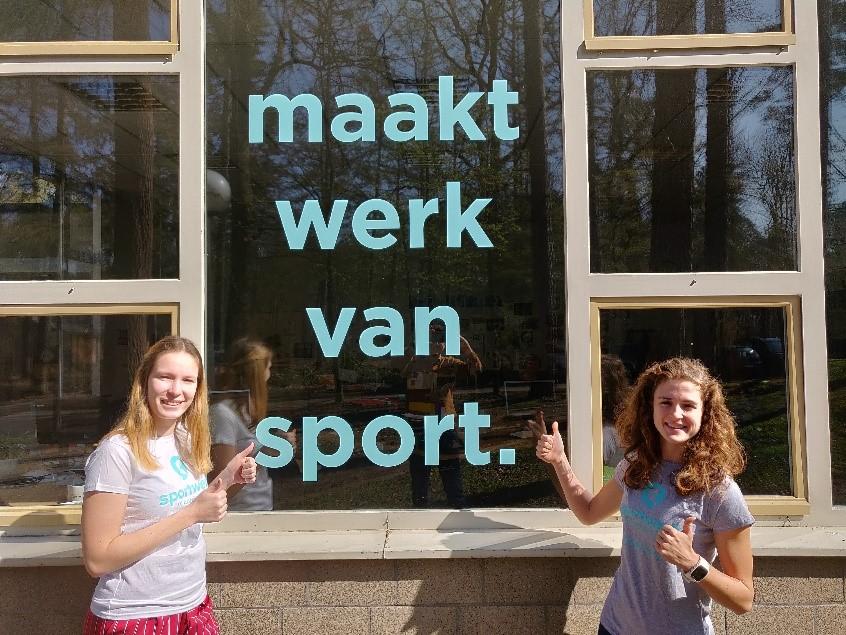 Melanie en Dafne maken werk van sport