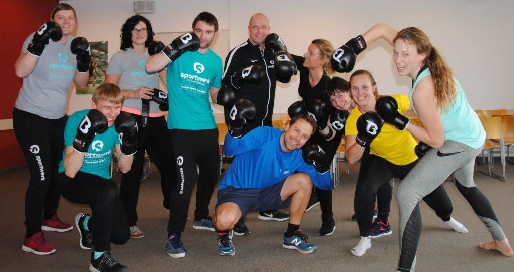 Sportwerk werknemers Martial Arts